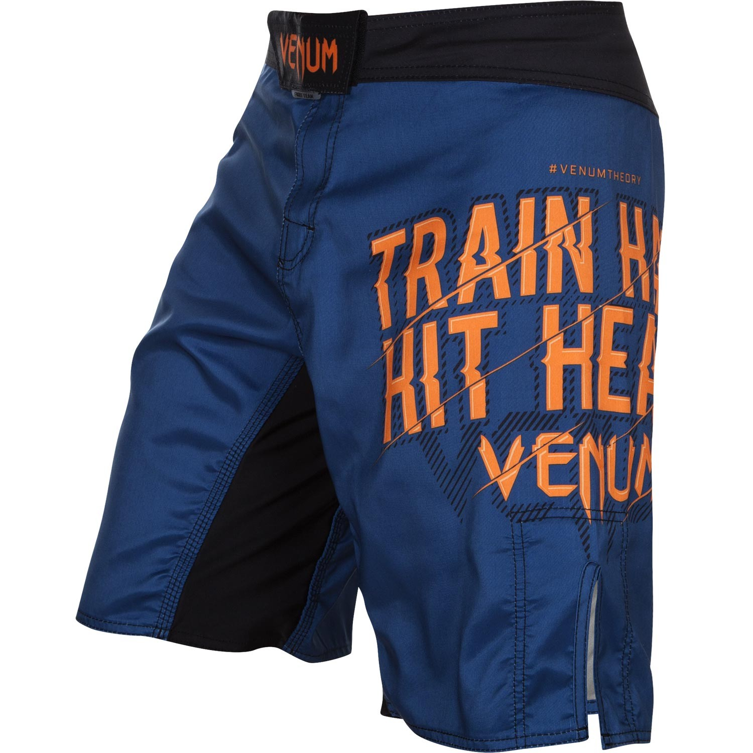 Шорты ММА Venum Train Hard Hit Heavy Blue